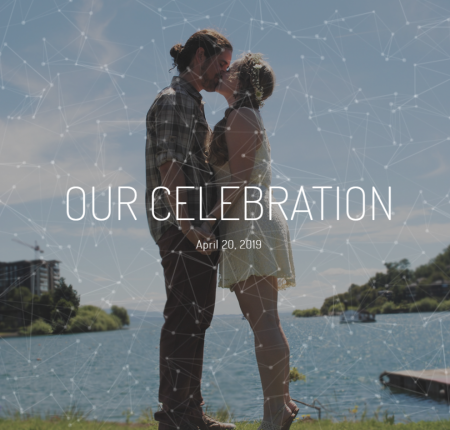 Our Celebration Wedding Website